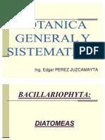 BOTANICA GRAL SISTEMATICA