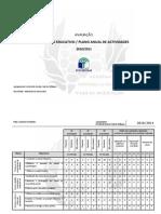 Plano Anual de Actividades-Relatório Avaliação BE-Art.Cur.