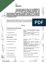 Acta de la comisión de seguimiento #12 (19/07/11)