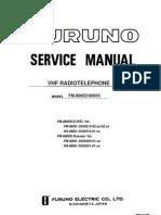 FM8800S Service Manual B6 1-20-09