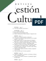 Revista Gestión Cultural 01