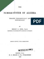 Number System of Algebra Fine Edited