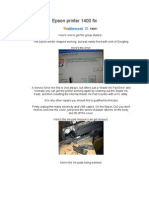 Epson 1400 Service Manual