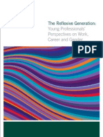 Gen Y the Reflexive Generation the Report