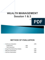 WM Financial System & Economic Environment