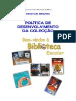 Politica de Desenvolvimento da Colecção