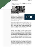 Algunos conceptos de debate sobre la ciudad creativa Valparaíso