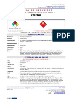 MSDS-XILENO