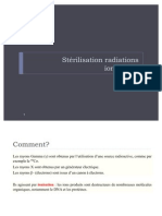 Sterilisation radiations ionisantes
