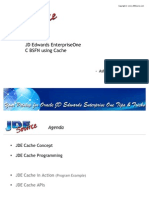 JD Edwards EnterpriseOne - BSFN Cache Programming