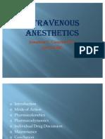 Intravenous Anesthetics
