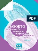 El Aborto Como Causa de Muerte en Mujeres Del Paraguay - PortalGuarani