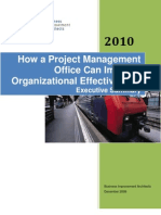 PMO 2010 Executive Summary