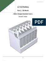 Alibre Design Std 12 Volt Battery SAMPLE net