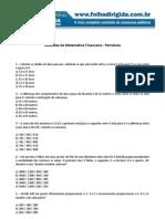 Folha Dirigida - Questões Matematica Financeira- Petrobras(www.concurseirosdobrasil.net)