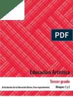 Educación Artística 3er grado