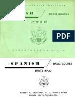 FSI Spanish Basic Course Volume 2 Student Text