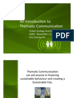 Introduction to Thematic Communication