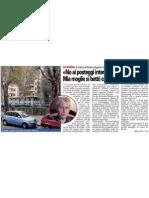 """""""No ai posteggi interrati in piazzale Lavater, mia moglie si battè contro la speculazione"""" 20110720_CronacaQui"""