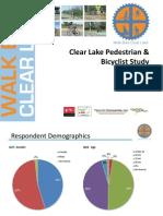 Walk Bike Clear Lake Survey Results - 072011