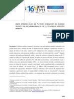 PERFIL EPIDEMIOLÓGICO INFECÇÕES PEDIOSAS