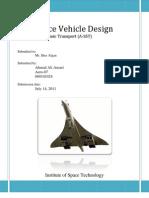 Design of Supersonic Transport (A-SST)