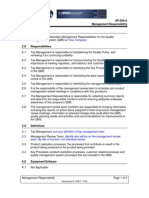 AP-500 Management Responsibility