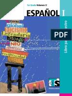 Libro para el maestro Español1 vol. 2