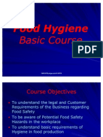 Food Hygiene Basic Course