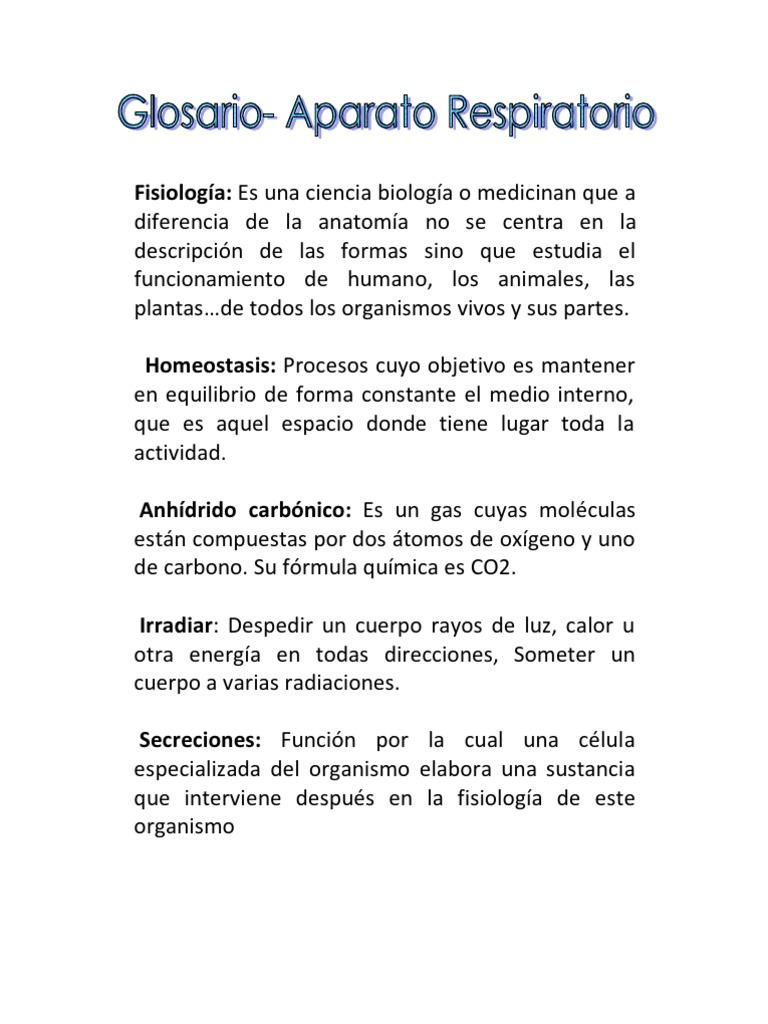 Lujo Anatomía Y Fisiología Vocabulario Lista Ornamento - Imágenes de ...