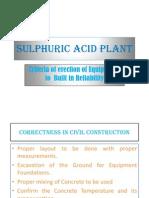 Sulphuric Acid Plant