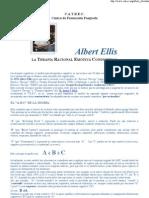 Albert Ellis La Terapia Racional Emotiva Conductual