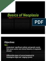 Basics of Neoplasia