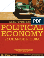 Political Economy of Change in Cuba