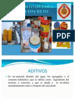 TIPOS DE ADITIVOS
