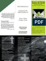folleto informacion iglesia