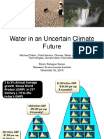 Denin Dialogue u Del 11-10 Totten Water in an Uncertain Climate Future