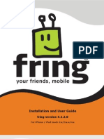 Fring - User Guide iPhone 4.1.2.0