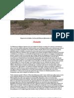 Reporte de La Salida La Zona Silencio(ASUATE)2009