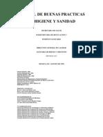 Manual de Buenas Practicas y Sanidad Secret Aria de Salud