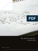 Summary of the The Dodd-Frank Act