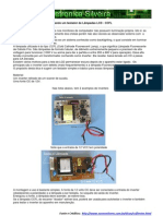 Montando um testador de Lâmpadas LCD