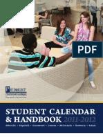 2011-12 PTC Student Calendar and Handbook 2011_2012