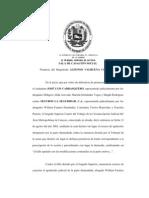 Sentencia Del TSJ Caso Cesta Ticket