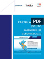 Cartilla - Barómetro