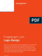 "Briefing Fragebogen ""Logo-Design"" der Hamburger Werbeagentur BRANDMEISTER DESIGN"