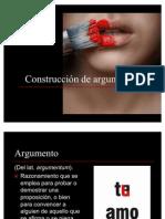 CONSTRUCCIÓN DE ARGUMENTOS