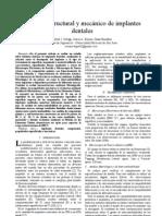 ANÁLISIS ESTRUCTURAL E MECÁNICO DE IMPLANTES