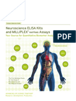 Neuroscience ELISA Kits & MILLIPLEX MAP/MAG Assays