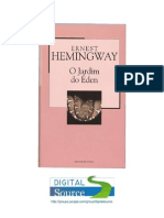 7864244 Ernest Hemingway O Jardim Do Eden